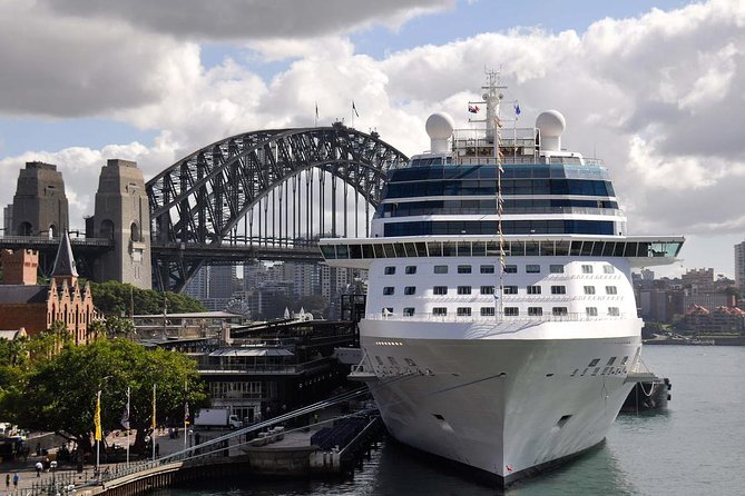 Shuttle Transfer from Circular Quay Cruise Terminal to Sydney Airport