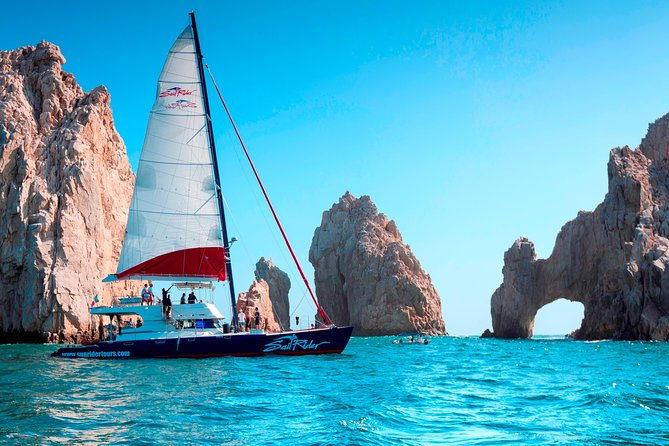 Los Cabos Luxury Sunset Sailing Cruise with Open Bar and