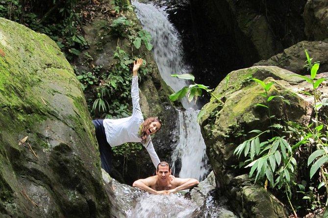 Enjoy a waterfall