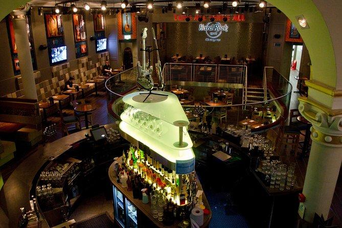 Evite as Filas: Hard Rock Cafe de Glasgow incluindo refeição