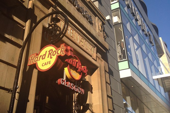 Evite as Filas: Hard Rock Cafe de Glasgow incluindo refeição