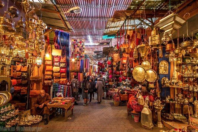 Grupo pequeño: Marrakech Excursión de un día con almuerzo, paseo en camello