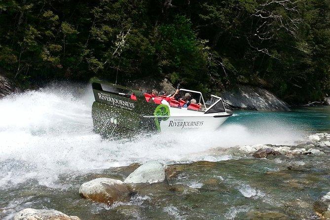 Glacier River Safari: 4WD Safari - Jet Boat - Walk