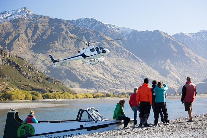 Essential Wanaka: Jet Boat - Walk - Helicopter - 4WD Safari