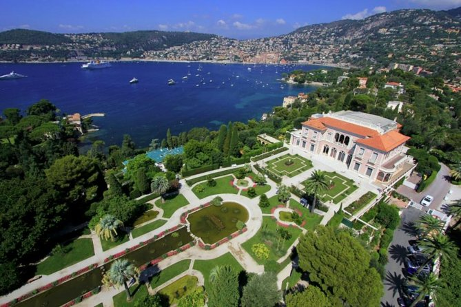 Private Nice City Tour & Villa Rothschild