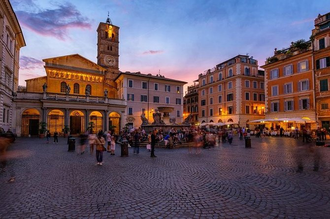 Trastevere and Jewish District private walking Tour