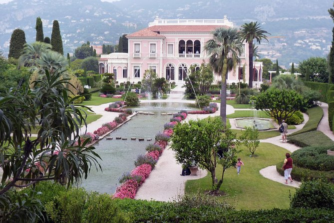 5-Hour Private Ephrussi Villa and Kérylos Greek Villa Tour from Nice