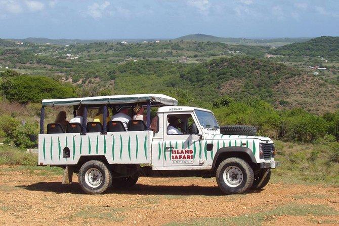 Island safari 4x4 up the Hill