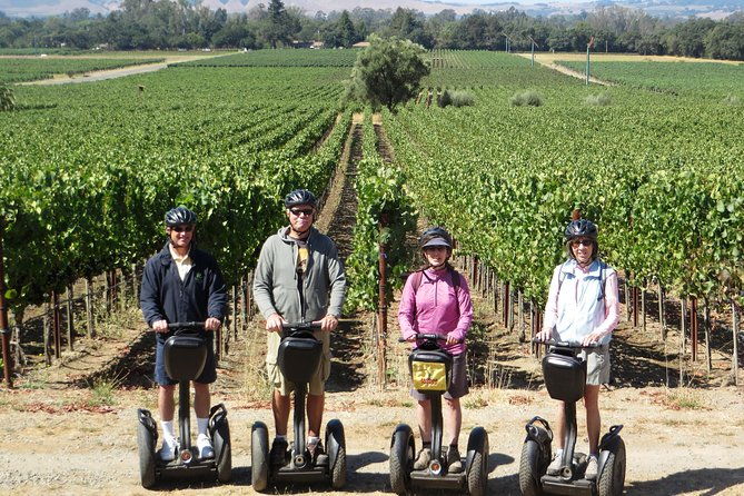 Segway Ride To Wineries