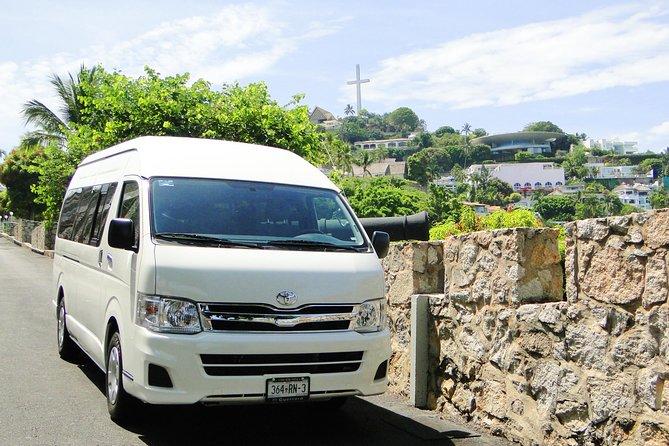 Serviço de guia da excursão e carro particular em Acapulco