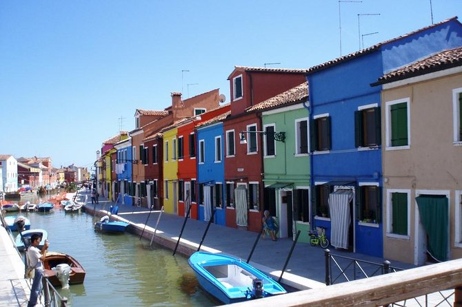 Murano and Burano VIP Venice Boat Tour