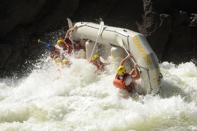 Whitewater Rafting on the Zambezi River from Victoria Falls