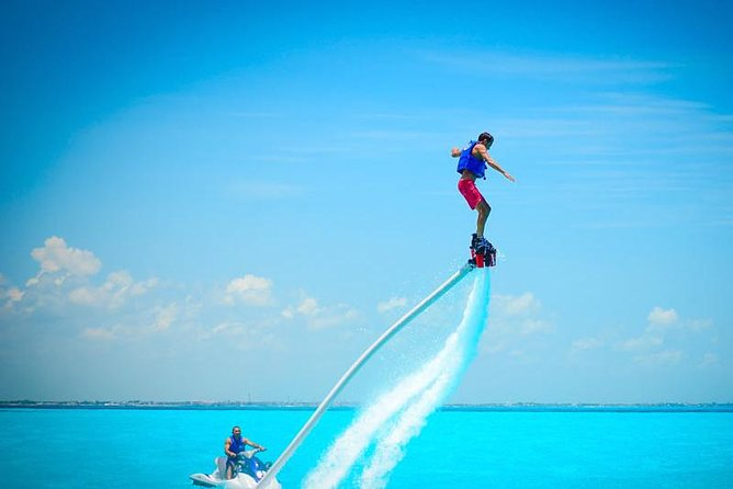 Excursion in Cancun Flyboard Premium 30 minutes