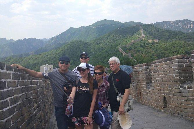 Excursion privée d'une journée tout compris à la grande muraille et au palais d'été de Mutianyu