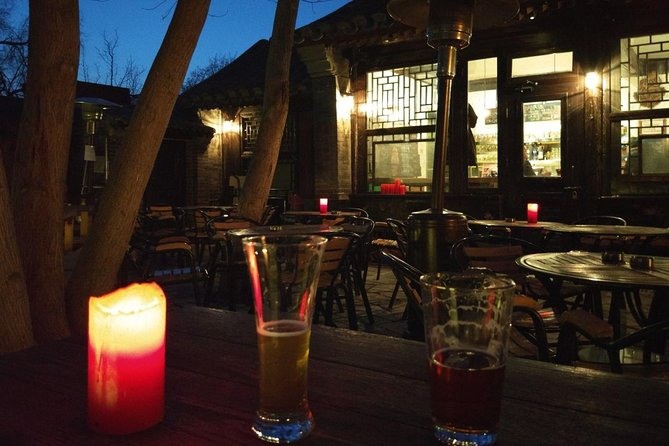 Dinner and Hutong Nightlife Tour with Dali Courtyard, Great Leap Brewing