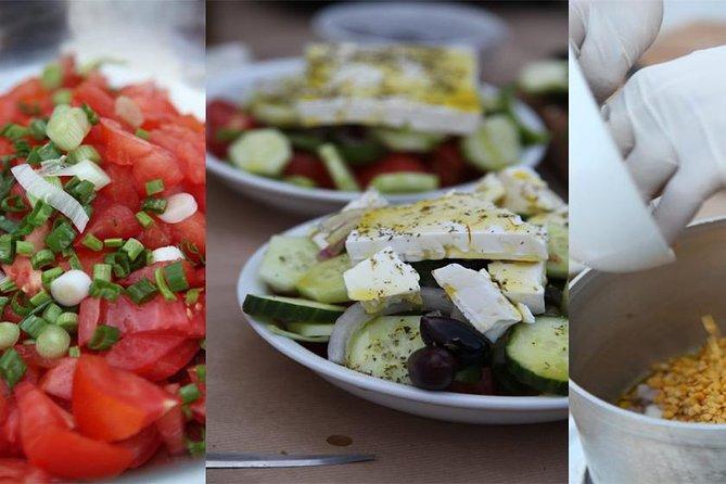 Kretensiska trädgårds matlagningsklass