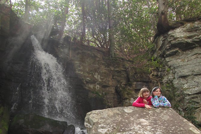Hidden Cascade Hike in Great Smoky Mountains from Gatlinburg
