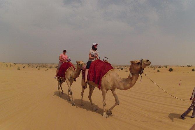 4X4 Morning Dubai Desert Safari with Camel riding