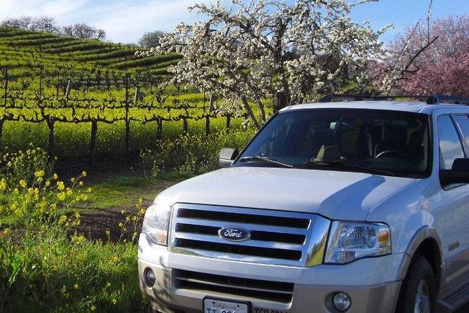 Private SUV Wine Tasting Excursion in Napa and Sonoma Valleys