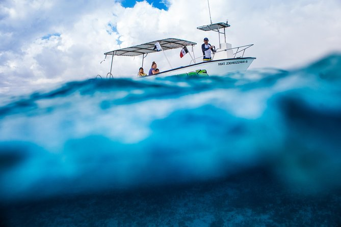 Isla Mujeres snorkeling and boat private tour from Playa del Carmen or Cancun