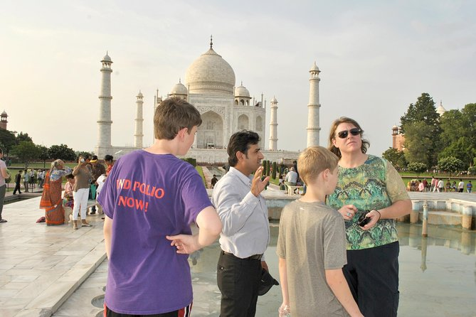 Sunrise Visit of Taj Mahal from Delhi: Same Day Trip: by Toyota SUV Car.