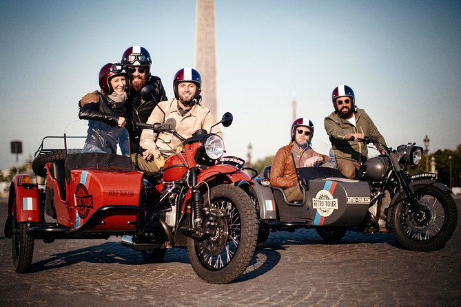 Private Guided Tour on a Vintage Sidecar from 1 Hour to 7 Hour