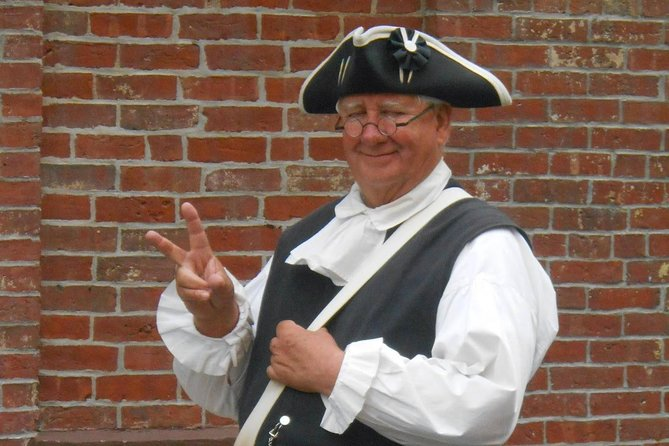 Boston Freedom Trail Walking Tour with Costumed Guide