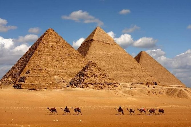 Day Tour to Giza Pyramids Memphis city and Dahshur photo 1