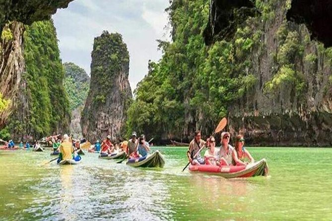 Full-Day Guided Phang Nga Bay Tour by Big Boat from Phuket
