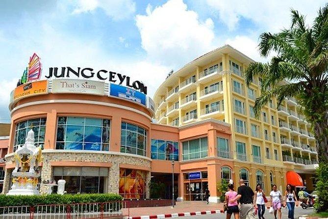Private Shopping-Tour in Phuket mit Abendessen in Phuket Fantasea