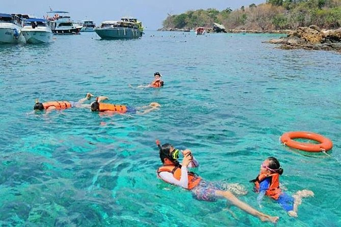 Private Speedboat Charters Phi Phi and Bamboo Island with Lunch