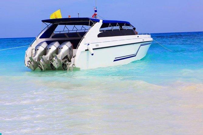 Phi Phi, Maya Bay Khai Island speed boat with Private Transfer