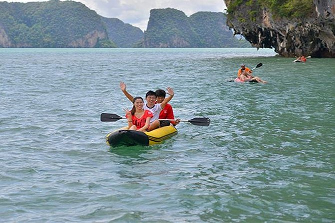 Phang Nga Bay Speed Boat with Private RoundTrip Transfer