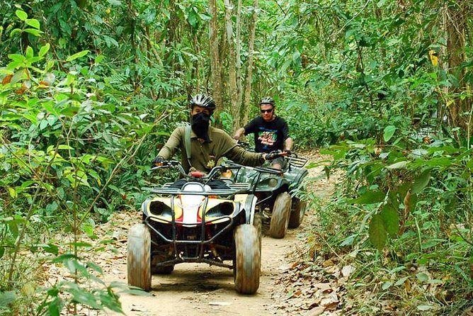 Real Adventure Tour: Whitewater Rafting and ATVs
