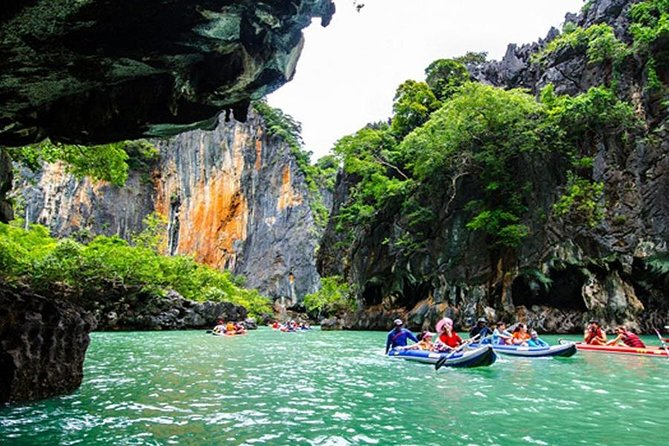 Phang Nga Bay Sea Canoeing Trip with Lunch