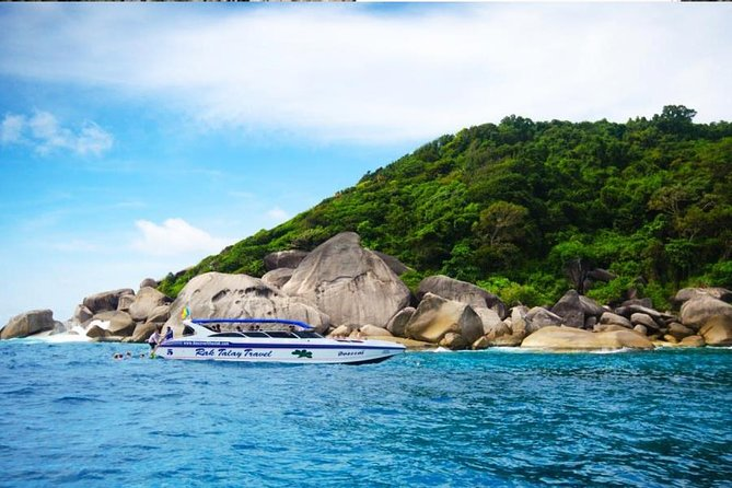 Full Day Tour Similan Island Speed Boat with Lunch