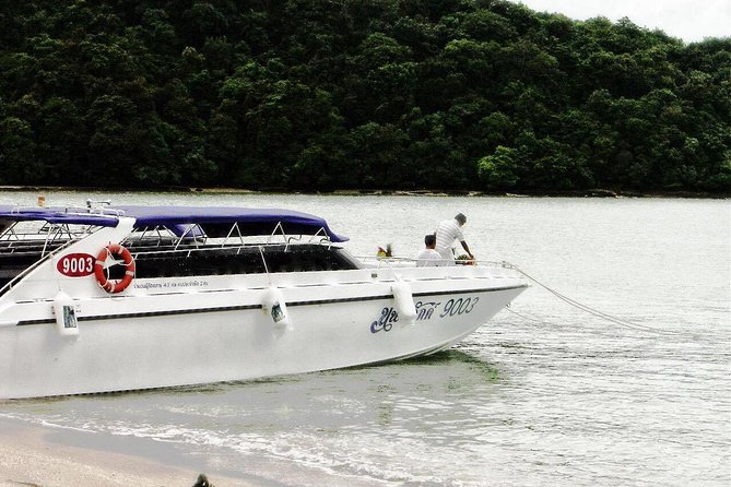 Private Speed Boat Charter Phi Phi Island James Bond Tour