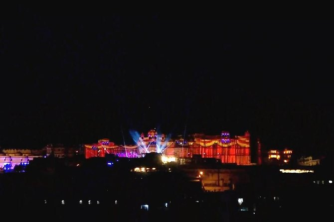 Experience Udaipur City Palace Museum Sound and Light Show with Transfers photo 1