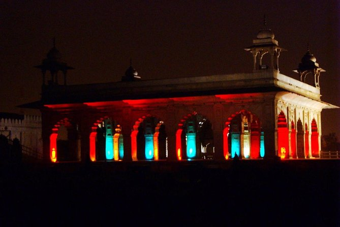 Red Fort Old Delhi Sound and light show with dinner
