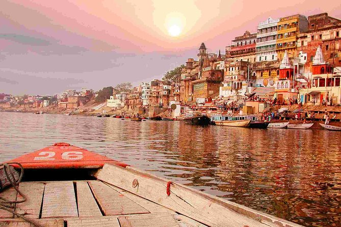 Private Full-Day Tour Ganga Aarti Ceremony from Varanasi