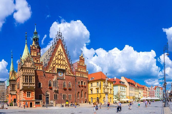 Wroclaw Small Group Tour with lunch and entrance fees from Warsaw