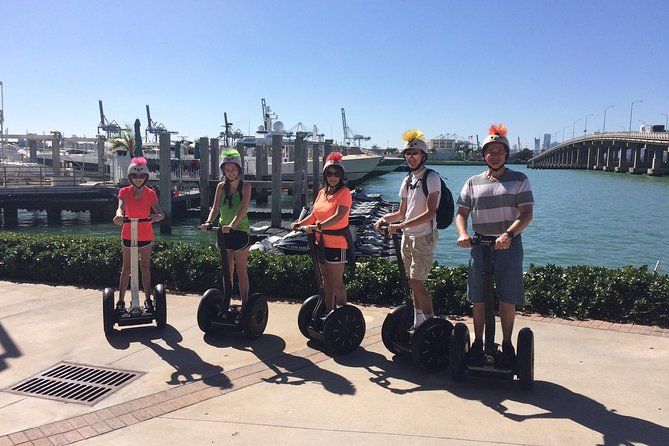 Shared 1 Hour 30 Mins South Beach Segway Tour