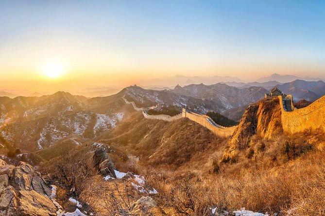 Sunset Pivate Tour at Jinshanling Great Wall