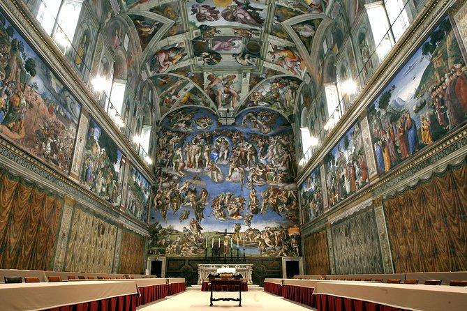 Sistine Chapel Raphael Rooms Private Tour