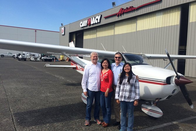 20-Minute Greater Seattle Scenic Airplane Tour