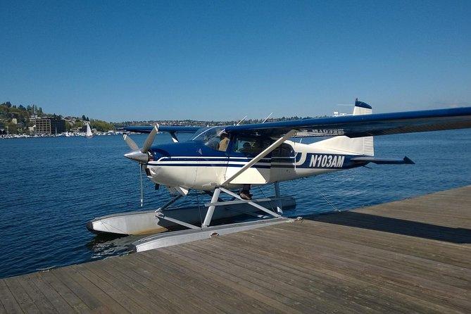 レイク・ワシントンから20分のナレーション・シアトル海上飛行