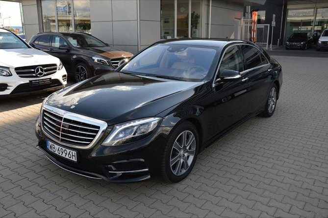 Warsaw Sightseeing with NEW Mercedes Sclass !!!