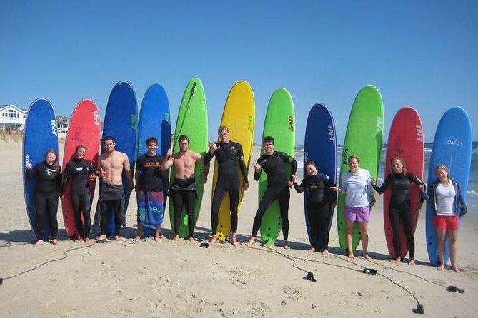 Cocoa Beach group surf lesson