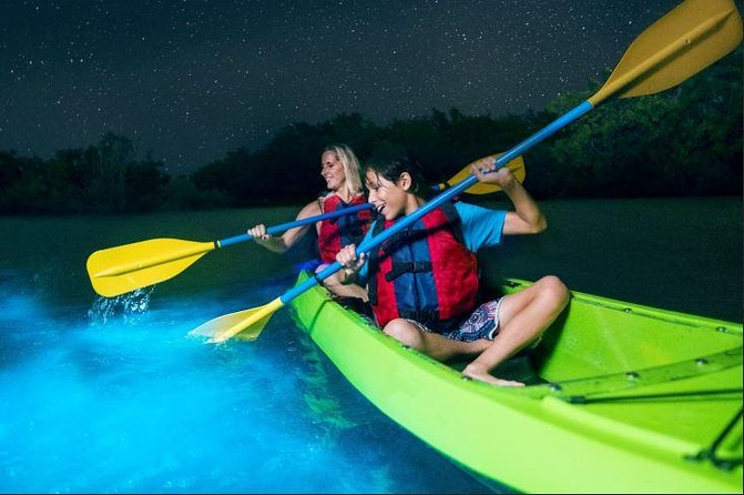 Cocoa Beach Night Time Bioluminescence Kayak Tour