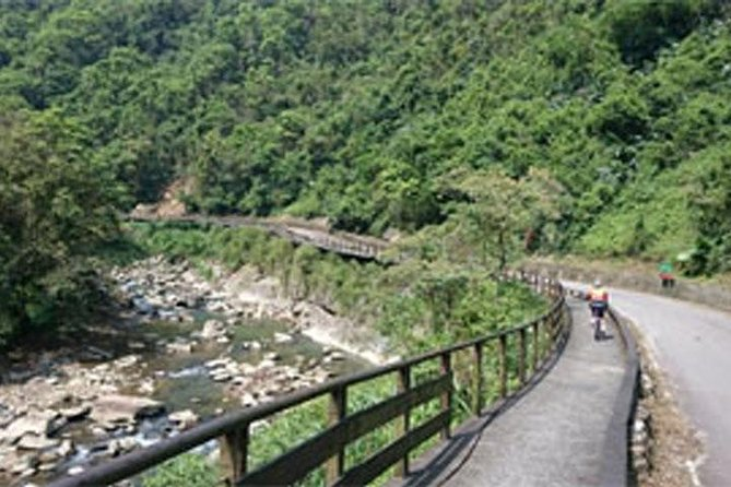 1-Day Cycling Tour: Daiyujue River Cycling Path and Pinglin Tea Industry Museum